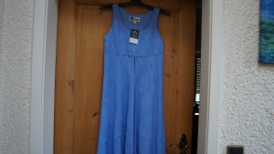 #Chiffon-Kleid mit Stickerei, Gr. 34, #hellblau, #Together