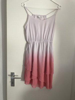 Amisu Vestido de chifón rosa claro-rosa
