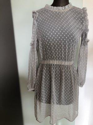 Chiffon Kleid Tunika gepunktet Gr 36 38 S von Aware
