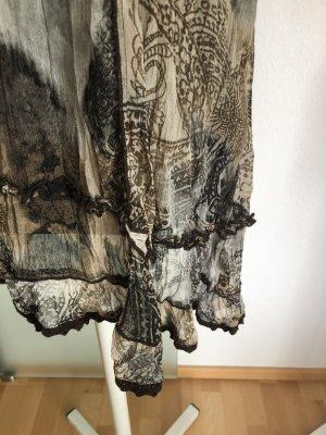 Chiffon Kleid Tunika Gr 42 44 L XL