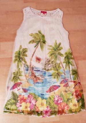 Chiffon Kleid von Derhy Gr. M / 38 Tropenmuster - NEU!
