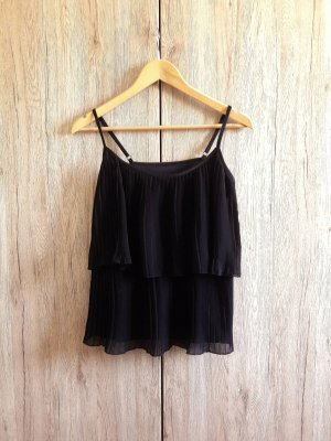 Atmosphere Flounce Top black