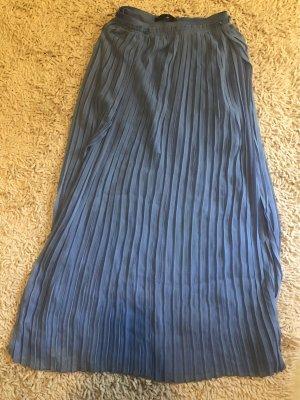 Zara Pleated Skirt light blue