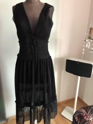 Chiffon Plissee Kleid Gr 38 S von Day Birger et Mikkelsen