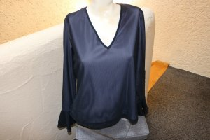 Heine Shirt Tunic dark violet-mauve polyamide