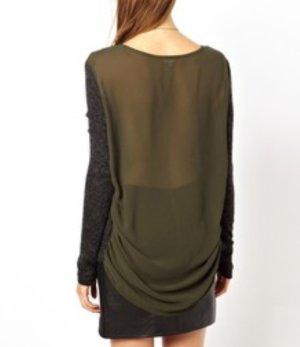 Chiffon-Sweater von Asos