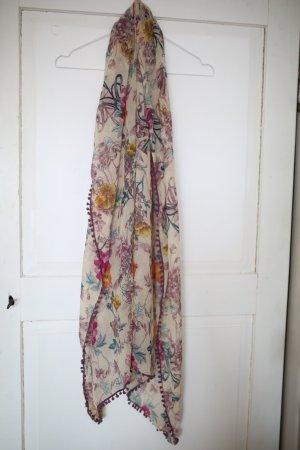 Chiffon Tuch mit Blumenmuster