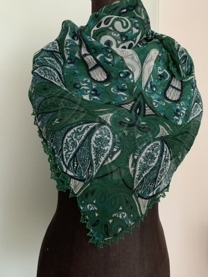 Neckerchief forest green-white