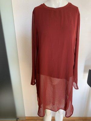 Chiffon Tunika Bluse Strand Kleid Überzieher Gr 38 40 M