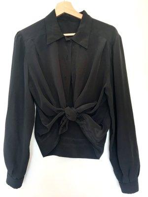Chiffon Vintage Langeärmel Bluse