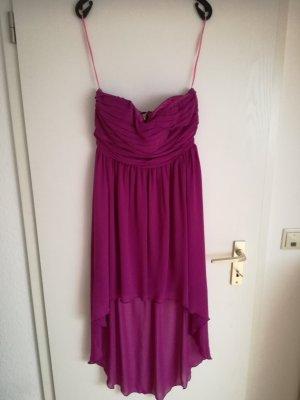 Vila Vestido de chifón violeta
