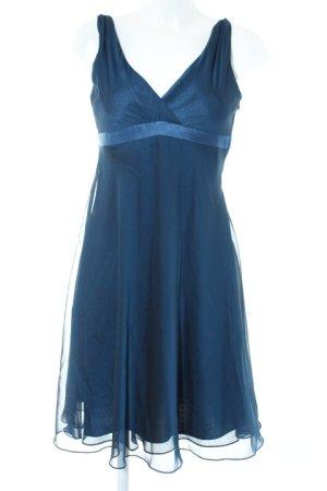 Chiffonkleid blau-dunkelblau Elegant