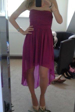 Vila Chiffon jurk violet