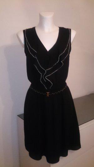 Liu jo Chiffon jurk zwart