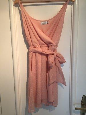 Nakd Vestido de chifón rosa-rosa