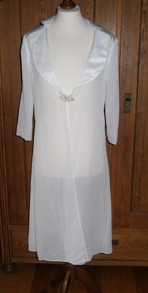 JJs House Chaqueta tipo blusa blanco puro