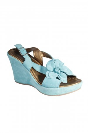 Chillany Platform Sandals turquoise