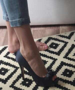 Chillany Pumps Highheels Peeptoes Plateau Schleife Bow Satin 40