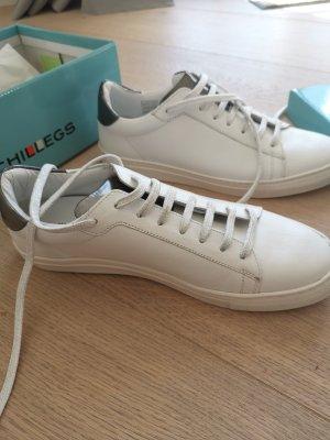 Chillegs Leder Sneaker mit Glitzerdetails Gr. 40 Neu