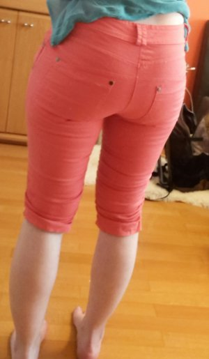 Chilli Damen Bermuda Shorts Sommerhose kurz lachs Gr. S