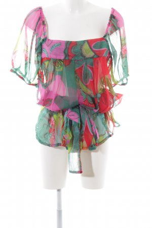 Chilli & Pepper Blusa de túnica estampado con diseño abstracto look casual