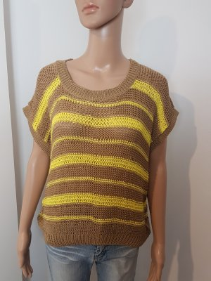 Chillytime Coarse Knitted Sweater sand brown-yellow