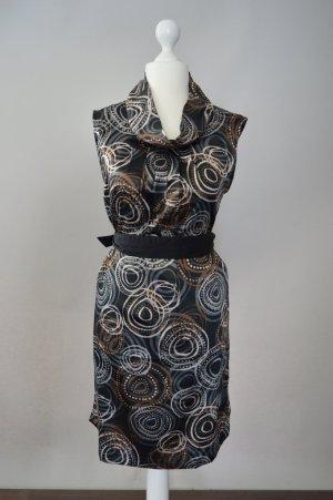 Chillytime Kleid mit Muster mehrfarbig Größe M