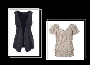 Chillytime - Shirtweste Gr. 36/38 & Bluse Gr. 36