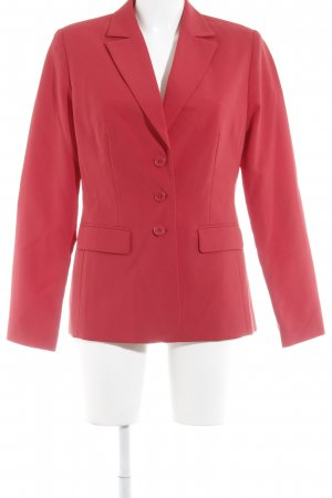 Chillytime Veste de smoking rouge style d'affaires