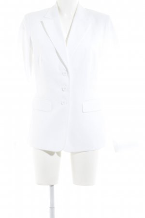 Chillytime Veste de smoking blanc style d'affaires