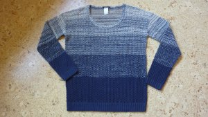 CHILLYTIME Strickpulli Pullover blau Farbverlauf Gr 36/38 NEU