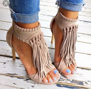 Chinese Laundry Talons hauts taupe-marron clair