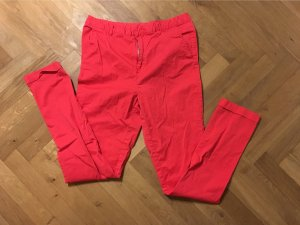 Only Pantalon chinos rouge