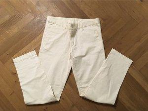 Muji Pantalon chinos crème