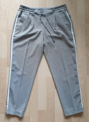Opus Chinos light grey-white polyester