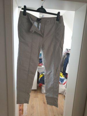 H&M Pantalon en jersey gris clair