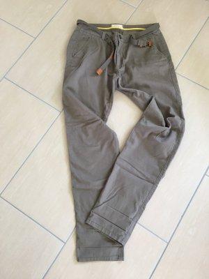 Esprit Chinos dark grey-grey brown cotton