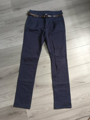 Chino Hose in blau von Only