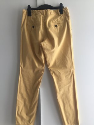 Chino Hose in Pastell gelb