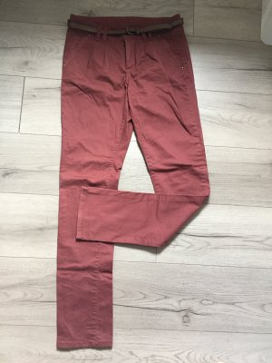 Chino Hose in Rostrot von Only
