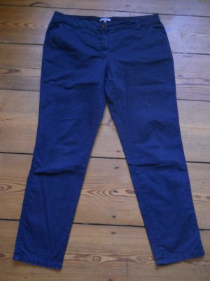 Peckott Chinos dark blue cotton