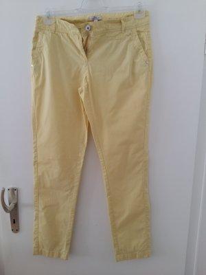 s.Oliver Pantalone chino giallo pallido-giallo chiaro