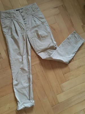 Zara Pantalon chinos beige clair