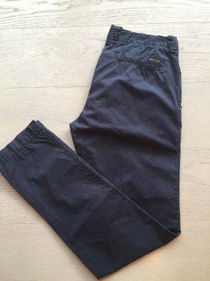 Chinos dark blue cotton