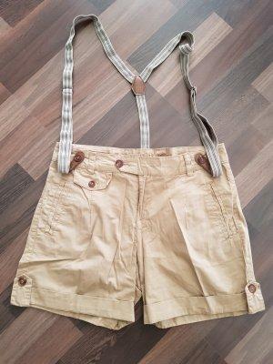 Chino Shorts mit Hosenträgern