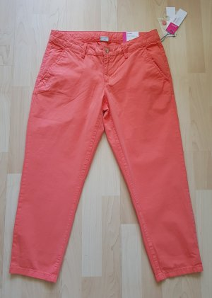 Esprit Chinos orange cotton