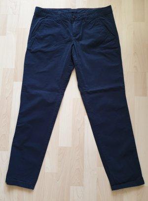 Esprit Chinos dark blue cotton