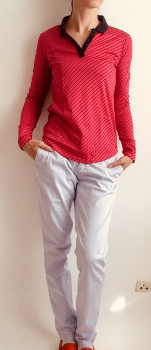 Maison Scotch Pantalone chino malva