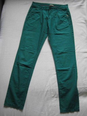 Orsay Chinos forest green cotton
