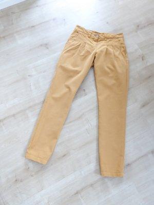 armedangels Chinos dark yellow cotton